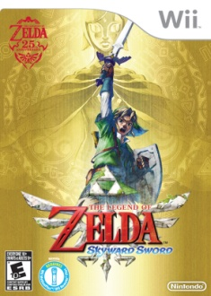 The Legend of Zelda: Skyward Sword boxart on Paul Gale Network